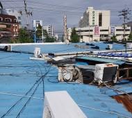 진주시 주약동 상가 지붕작업